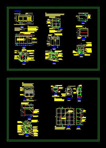detalles  muebles de melamina en autocad cad  kb