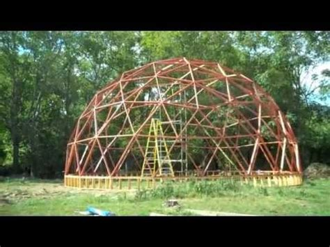 building a 40 foot geodesic dome (part 2) youtube