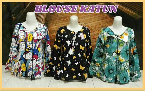 Pusat Grosir Baju Atasan Trifosa Blouse Katun Jepang Grade A grosir blouse katun wanita dewasa terbaru murah 28ribu peluang usaha grosir baju anak daster