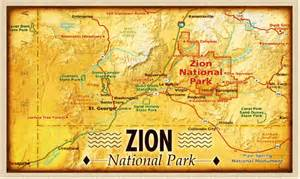 printable map of zion national park cook lowery15 owens zion due november 20