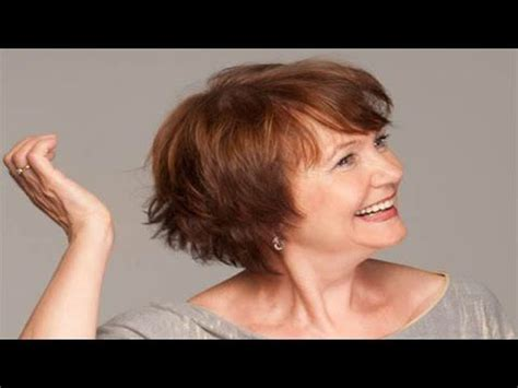 easy care hairstyles for women over 60 short hairstyles for older mature women hairstyles for