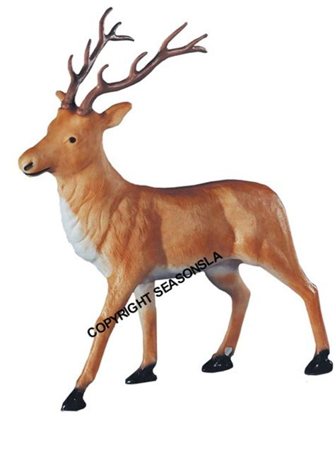 general foam plastic reindeer with antlers white reindeer with antlers general foam plastics corp