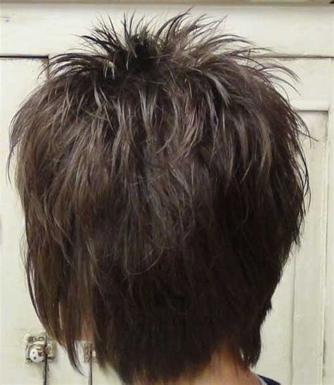 back view of short spikey hair cuts for women short spiky hairstyles for women in 2013 hairstyle gallery