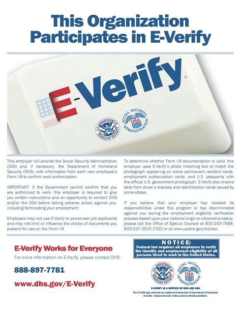 E Verify Search Employment Lcwsd