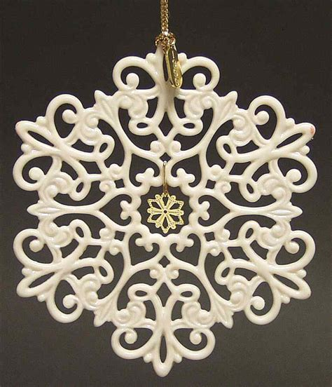 lenox twelve days of christmas snowflake ornaments lenox snow fantasies snowflake 1999 1158244 ebay