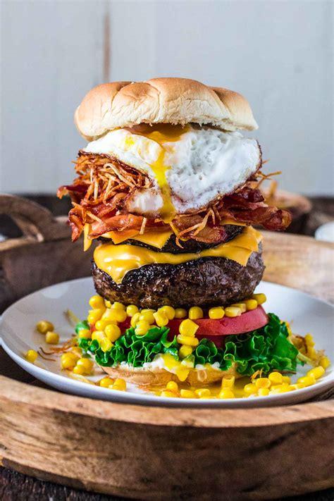 cuisine burger epic burger with egg s cuisine