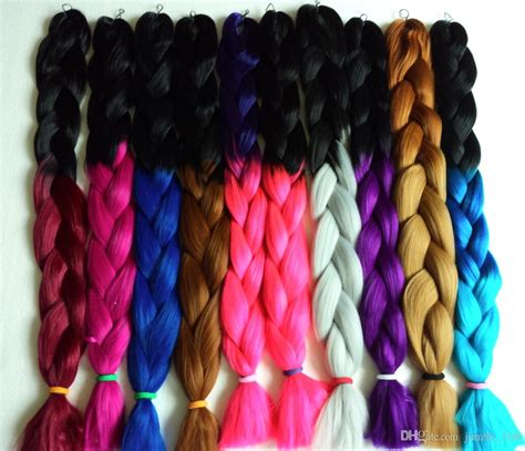 ombre human braiding hair 2015 hot x pression ombre braid synthetic hair extensions