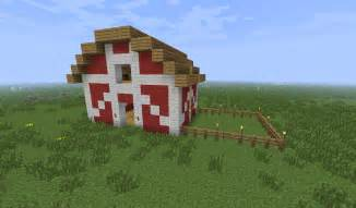 Minecarft Barn Small Farmhouse Amp Barn Creative Mode Minecraft