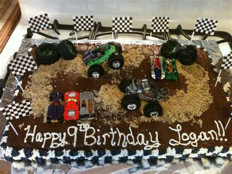 grave digger monster truck party supplies logan s grave digger cake birthday party ideas