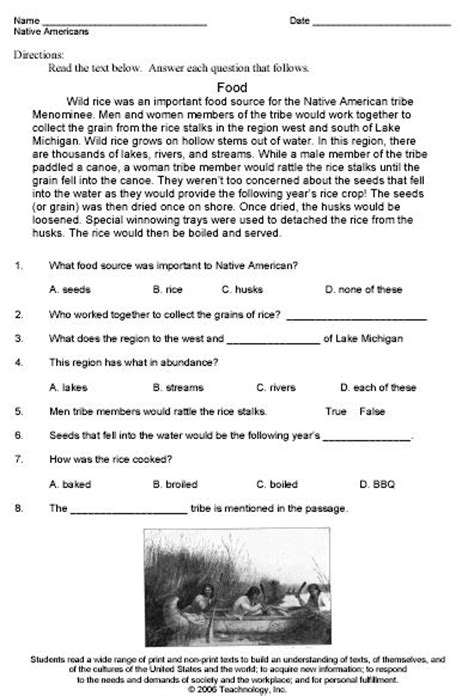 An American Worksheet 17 Best Images About Americans Study On American Lesson Plans