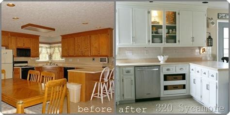 white kitchen cabinets before and after favorite paint colors painting your kitchen cabinets