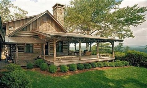 Small Farmhouse Plans Wrap Around Porch by Small Log Cabins With Lofts Small Log Cabins With Wrap