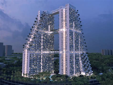 singapore appartment this singapore apartment building has one of the best