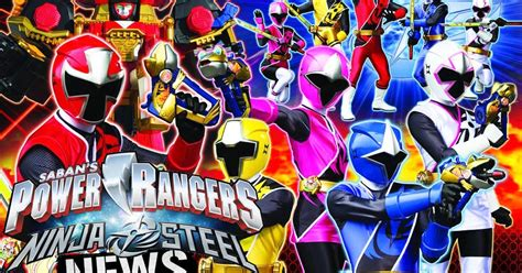 power rangers ninja steel logo revealed review jefusion