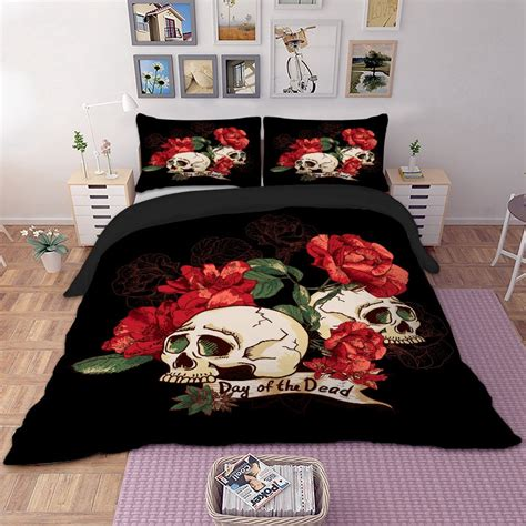 Housse De Couette Tete De Mort by Housse De Couette T 234 Te De Mort Atomi Oreillers Skull