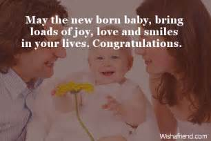 may the new born baby bring new baby wish