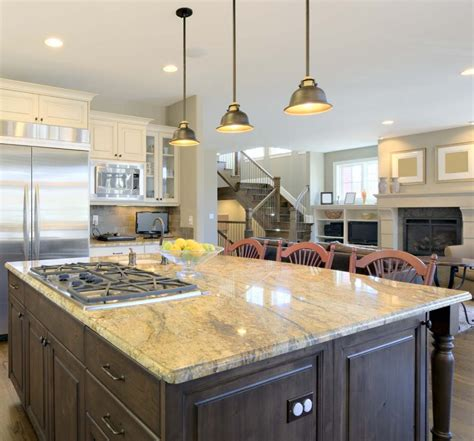 Light Fixtures Kitchen Island by Pendant Lighting Fixture Placement Guide For The Kitchen