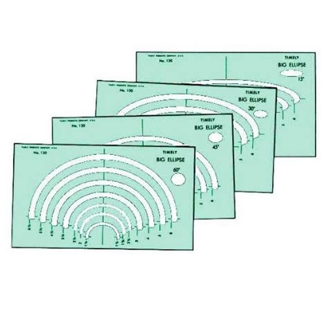 alvin 120t timely big ellipse templates engineersupply