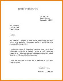 letter to school principal letters font