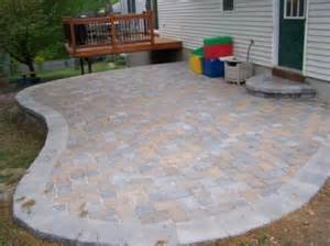 building a patio on a sloped yard patio on sloping yard