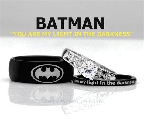 1000 ideas about batman wedding rings on