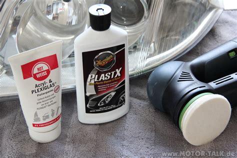 Plastik Aufpolieren by Scheinwerfer Polieren Pepparmobil