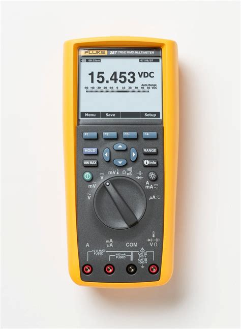 Multimeter Fluke 287 fluke 287 true rms electronics logging multimeter with trendcapture multi testers