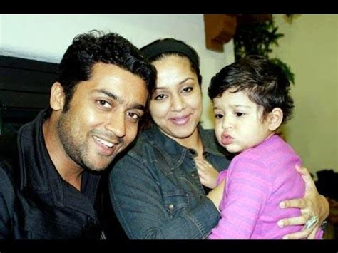 surya with his wife jyothika family photos and children