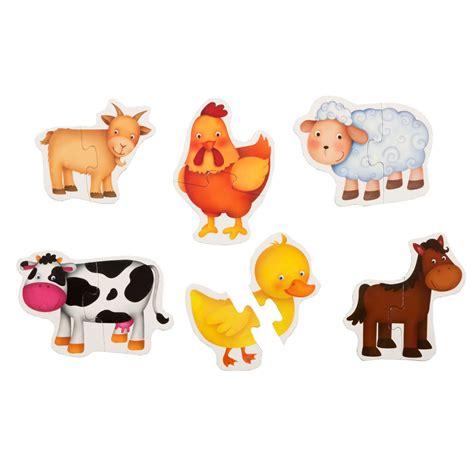 Baby Animal Puzzle baby puzzle farm animals eolo