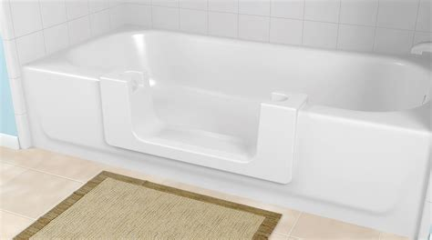 Cut In Bathtub by Launch Of Affordable Aging In Place Product Revolutionizes