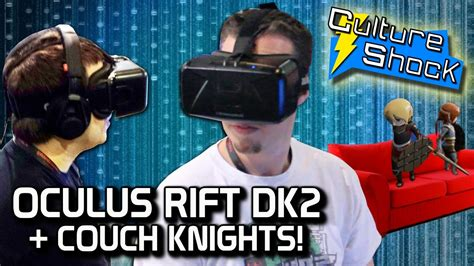 couch knights oculus rift dk2 couch knights youtube