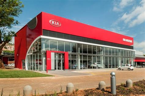 Kia Car Lot Kia Opens Solar Powered Car Dealership In South Africa Kia