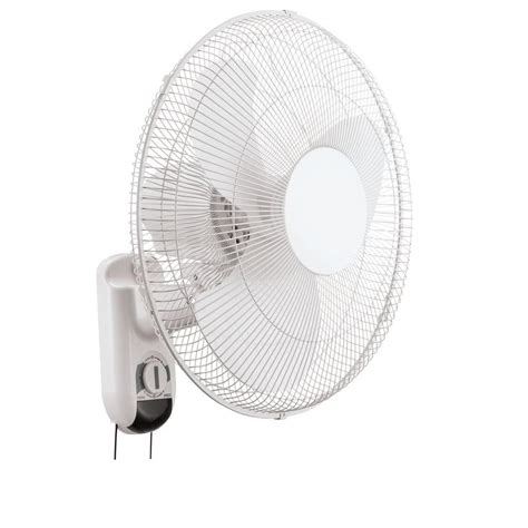 lasko 12 wall mount fan lasko 16 in 3 speed oscillating wall mount fan with