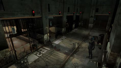 3d Game Design prison concept characters amp art dishonored