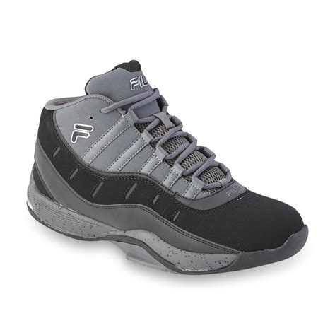 wide high top basketball shoes fila s city wide 2 silver black high top basketball