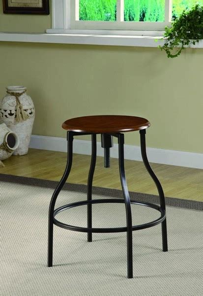 Antique Gold Bar Stools by Coaster Furniture Antique Gold Metal Wood Bar Stool The