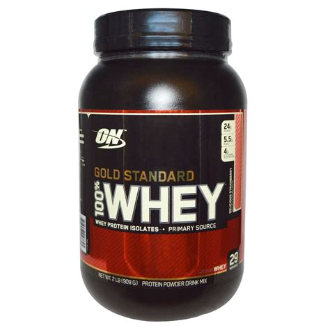 Whey Standard Optimum Nutrition Gold Standard 100 Whey Delicious