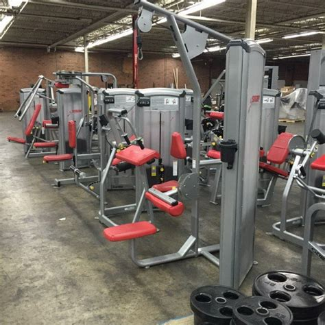 snap fitness bench press pre owned full 120 piece snap gym package the bench