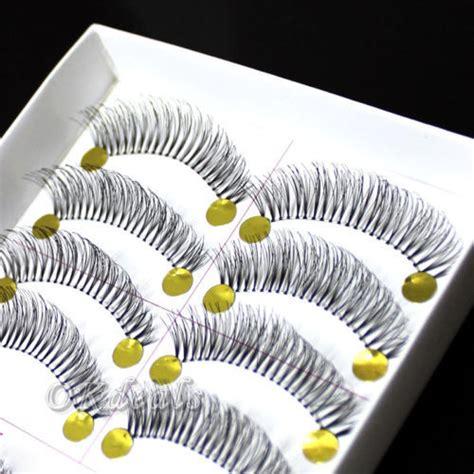 Bioaqua False Eyelashes 10 Pairs 1 10 pairs thick false eyelashes eye lashes voluminous handmade in false