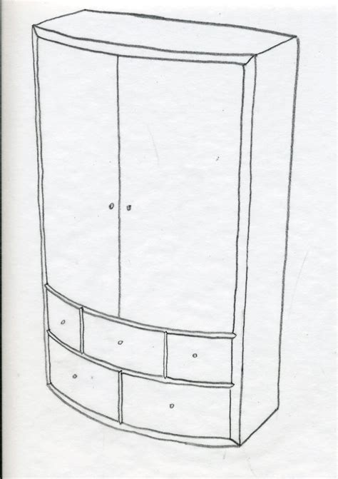 Cabinet Colouring Pages Sketch Coloring Page Cabinet Paper Template