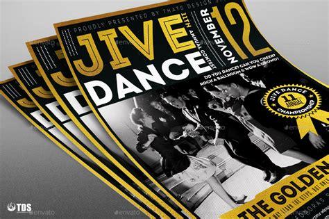 jive templates jive flyer template by lou606 graphicriver