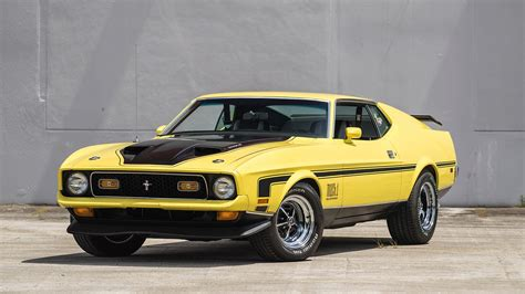 ford mustang 1971 mach 1 1971 ford mustang mach 1 fastback f44 monterey 2016