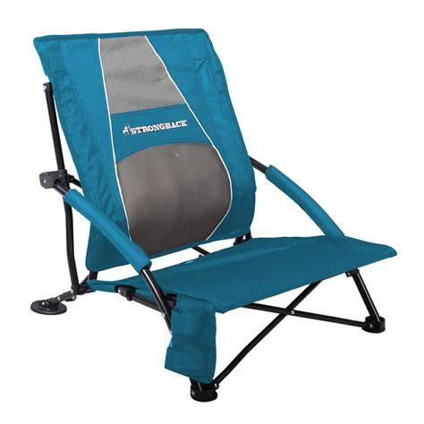 Strong Back Chairs by Strongback Low Gravity Chair Blue And Grey