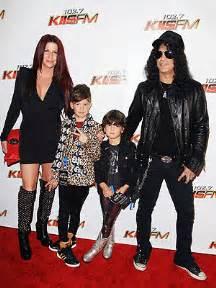Slash family family photo slash and his lil rocker boys moms