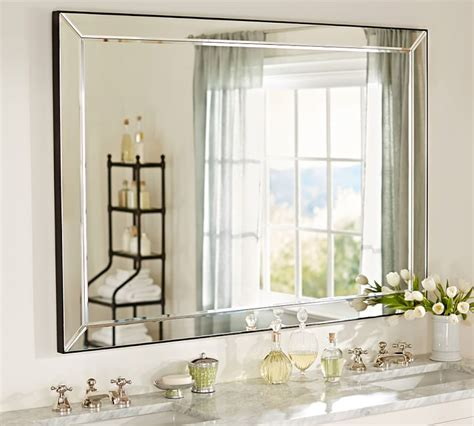 large glass mirror bathroom custom mirrors bathroom mirrors bevelled mirrors wall