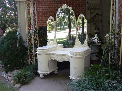 1920 s vanity dresser shabby ornate chic french white