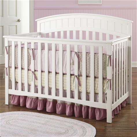 Graco Charleston Convertible Crib White by Graco Cribs Charleston 4 In 1 Convertible Crib In White Free Shipping