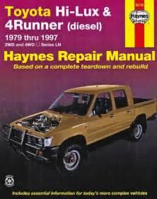 toyota hi lux 4runner repair manual review ebooks