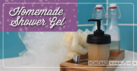 Handmade Shower Gel - easy shower gel