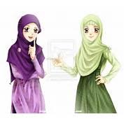 Hijab Tapi Dalam Bentuk Cartoon Ya Soalnyaa Kalau